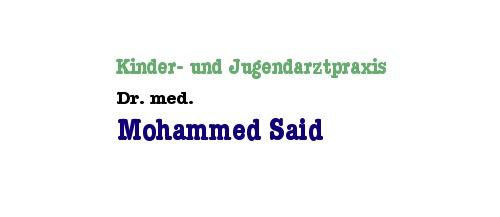 Kinder- und Jugendarztpraxis Dr. med. Mohammed Said